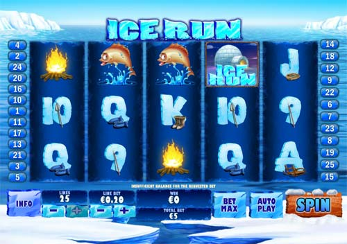 Ice Run videoslot