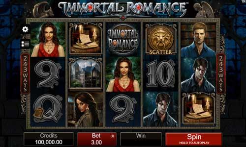 Immortal Romance videoslot