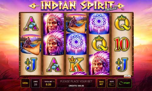 Indian Spirit Deluxe videoslot