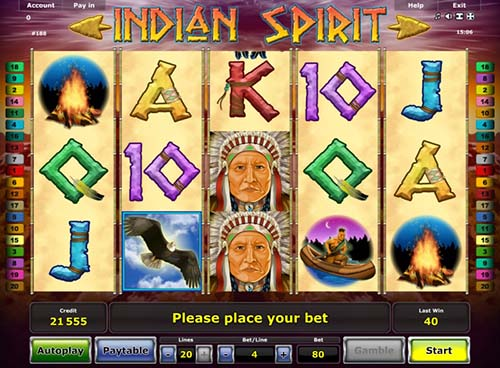 Indian Spirit videoslot