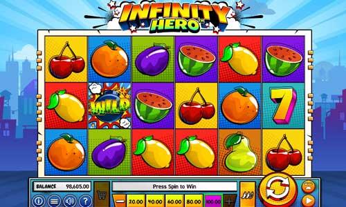 Infinity Hero videoslot