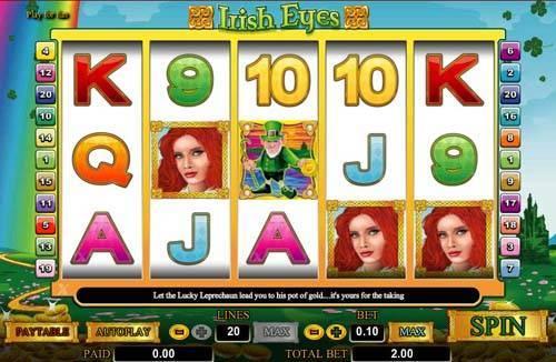 Irish Eyes videoslot