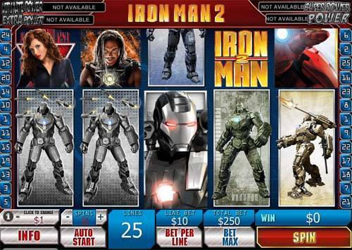 Iron Man 2 videoslot