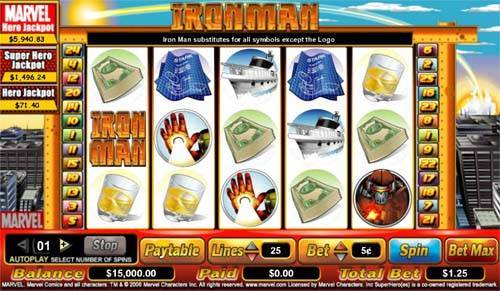 Iron Man free slot