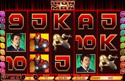 Ironman slot