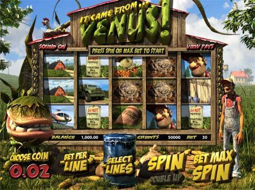 It Came From Venus slot