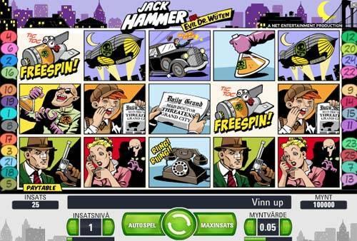 Jack Hammer videoslot