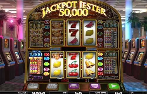 Jackpot Jester 50000 videoslot