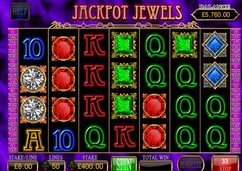 Jackpot Jewels videoslot