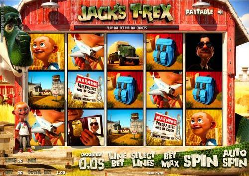 Jacks T-Rex slot