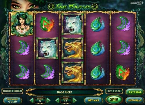 Jade Magician videoslot