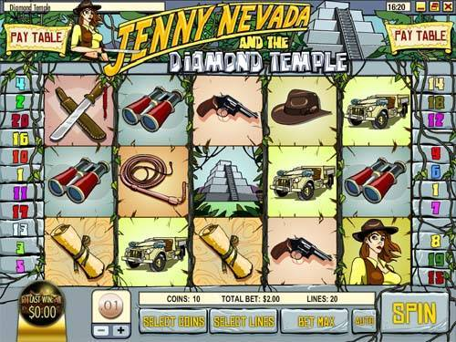 Diamond Temple slot