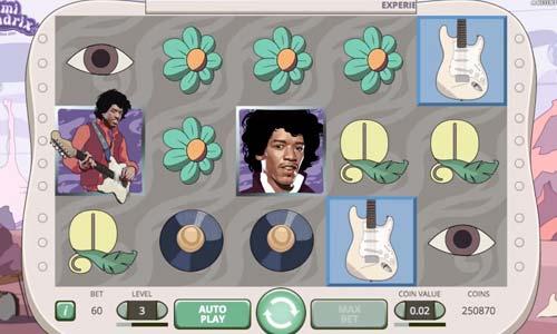 Jimi Hendrix videoslot