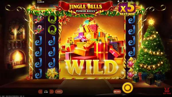 Jingle Bells Power Reels videoslot