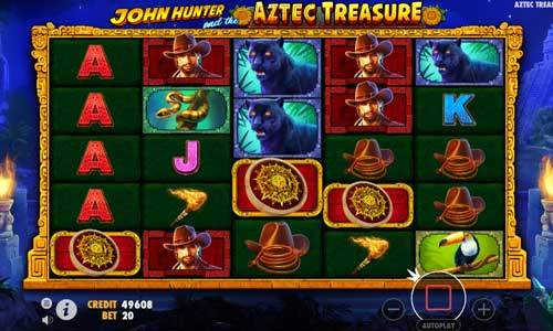 John Hunter and The Aztec Treasure videoslot