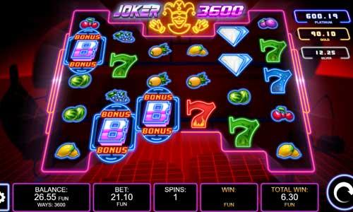 Joker 3600 videoslot