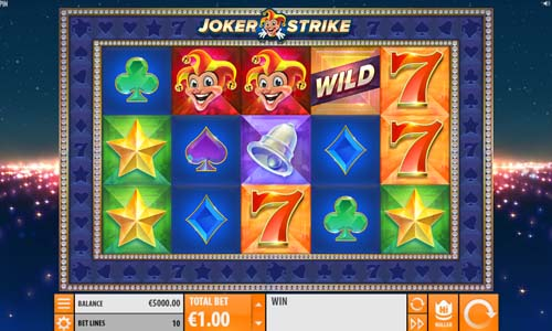 Joker Strike free slot