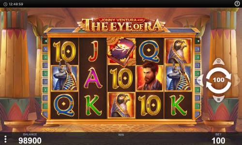 Jonny Ventura and The Eye of Ra videoslot