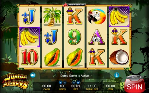 Jungle Monkeys free slot