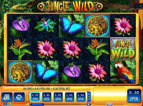 Jungle Wild videoslot