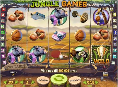 Jungle Games videoslot