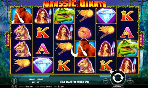 Jurassic Giants videoslot