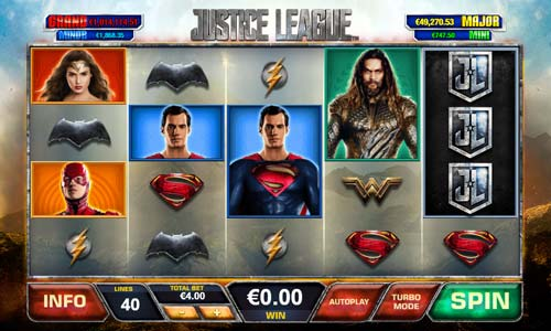 Justice League videoslot