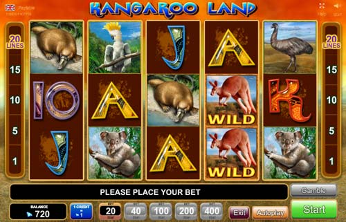 online casino test kangaroo land