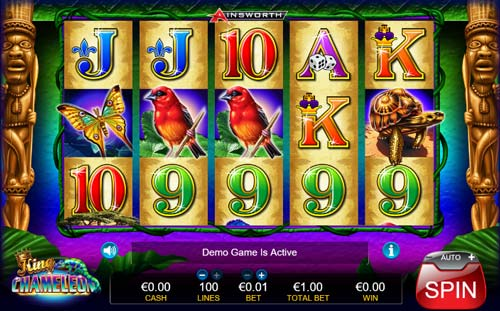 King Chameleon free slot
