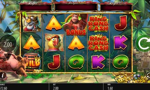 King Kong Cash Jackpot King videoslot
