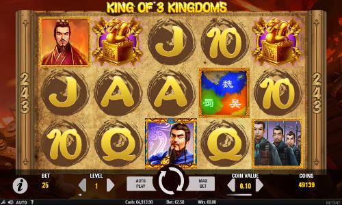 King of 3 Kingdoms slot