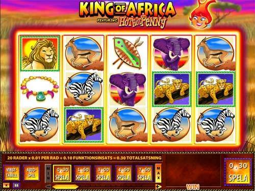 King of Africa free slot