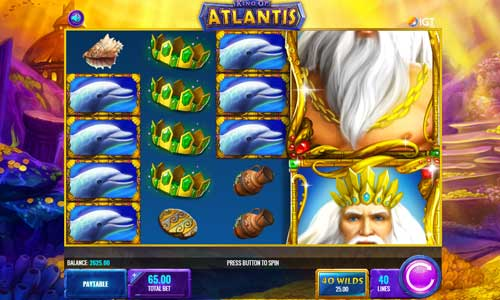 King of Atlantis free slot