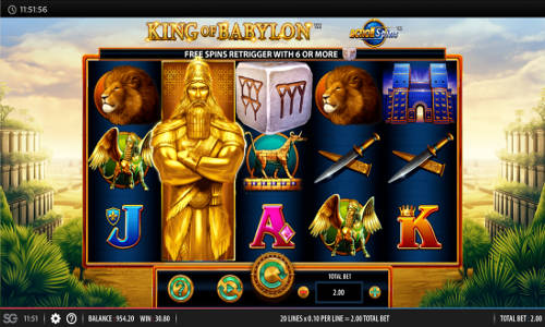 King of Babylon videoslot