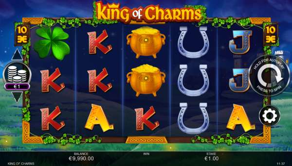 King of Charms videoslot