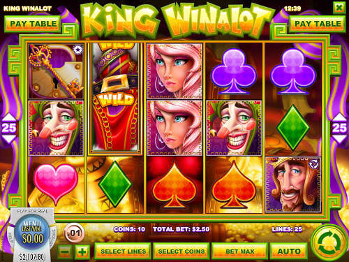 King Winalot videoslot