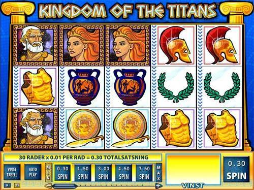 Kingdom of the Titans free slot