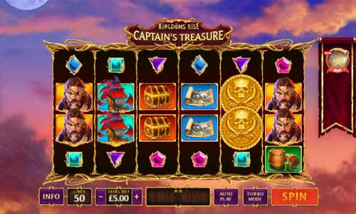 Kingdoms Rise Captains Treasure videoslot