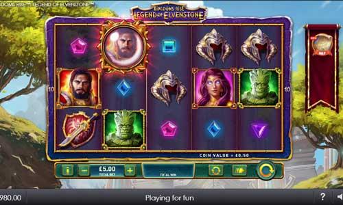 Kingdoms Rise Legend of Elvenstone videoslot