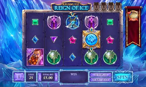 Kingdoms Rise Reign of Ice videoslot