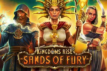Kingdoms Rise Sands of Fury video slot