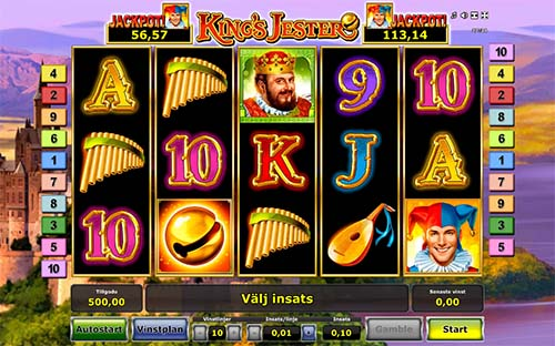 Kings Jester free slot