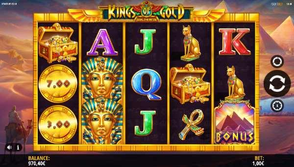 Kings of Gold videoslot