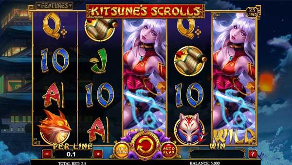 Kitsunes Scrolls videoslot