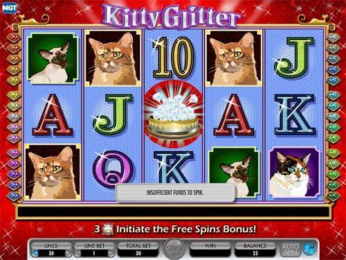 Kitty Glitter videoslot