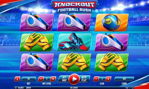 Knockout Football Rush videoslot