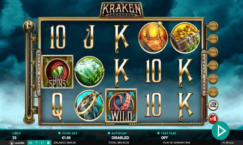 Kraken Conquest videoslot
