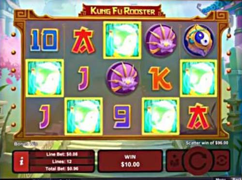 Kung Fu Rooster slot