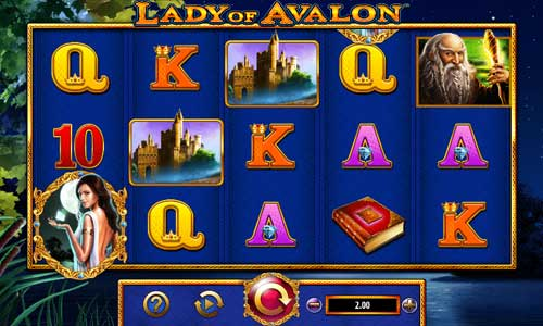 Lady of Avalon videoslot