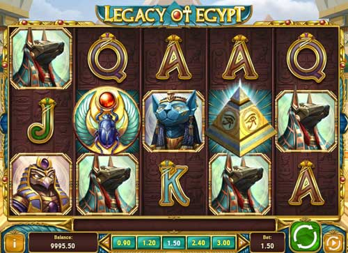 Legacy of Egypt videoslot